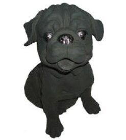 「横浜 お土産」クリンピア企画「犬(中)パグ」[贈答用/ギフト/手土産/横浜炭物語/炭置物/消臭効果]
