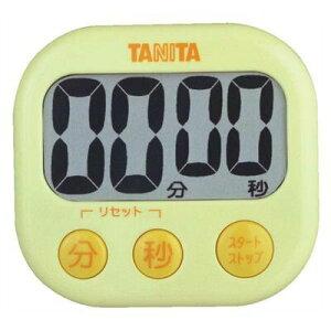 送料無料 TANITA タニタ デジタルタイマーでか見えタイマー イエロー【RCP】【TD-384-YL】【CP】