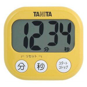 TANITA タニタ デジタルタイマーでか見えタイマー マンゴーイエロー【RCP】【TD-384-MY】