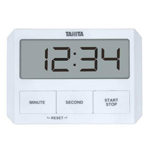 送料無料 TANITA タニタ ガラスにつくタイマー TD-409 ホワイト 【RCP】【TD-409-WH】【CP】