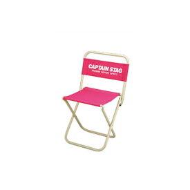 送料無料 CAPTAIN STAG キャプテンスタッグ パレット レジャーチェア 中 ピンク【RCP】【M-3926】【CP】【キャッシュレス 還元 対象店】