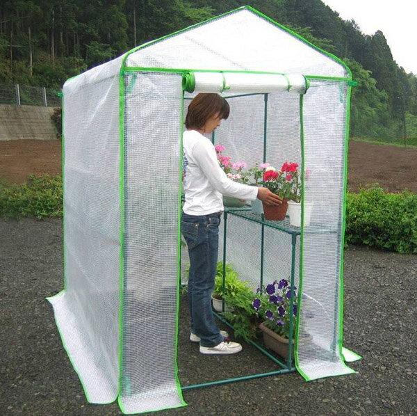 【送料無料】組立式簡易温室 温室グリーンジャンボ【RCP】【NO.7800】