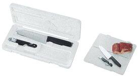 抗菌PCマナ板3点セット(まな板、包丁、三得缶) CAPTAIN STAG パール金属 【RCP】【M-5561】