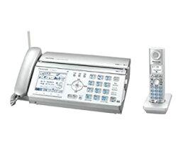 【中古】パナソニック おたっくす デジタルコードレスFAX 子機1台付き シルバー KX-PW621DL-S