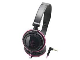 【中古】audio-technica ポータブルヘッドホン ATH-SJ11 BPK