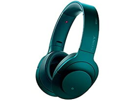 【中古】ソニー SONY ワイヤレスノイズキャンセリングヘッドホン h.ear on Wireless NC MDR-100ABN : Bluetooth/ハイレゾ対応 マイク付き ビリジアンブル