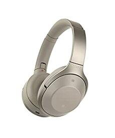 【中古】ソニー SONY ワイヤレスノイズキャンセリングヘッドホン MDR-1000X : Bluetooth/ハイレゾ対応 マイク付き グレーベージュ MDR-1000X C