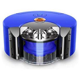 【中古】ダイソン ロボット掃除機(ニッケル/ブルー)dyson 360 heurist RB02BN