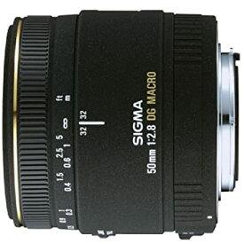 【中古】SIGMA 単焦点マクロレンズ MACRO 50mm F2.8 EX DG キヤノン用 フルサイズ対応