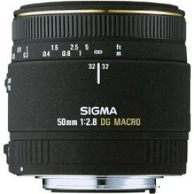 【中古】SIGMA 単焦点マクロレンズ MACRO 50mm F2.8 EX DG ペンタックス用 フルサイズ対応
