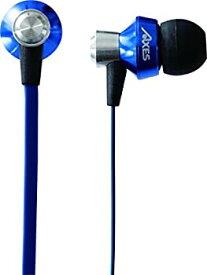 【中古】AXES (アクセス) スマホ対応 インナーイヤー型イヤホン GLANZ (グランツ) AH-H58 ブルー AH-H58 BL