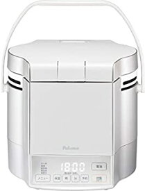 【中古】パロマ ガス炊飯器 炊きわざ PR-M09TV -LPG (0.9L/5合炊き) 【プロパンガス(LPG)用】プレミアムシルバー×アイボリー