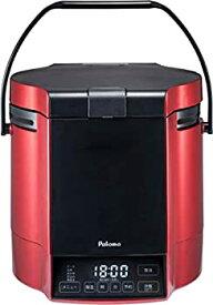 【中古】パロマ ガス炊飯器 炊きわざ PR-M18TR -LPG (1.8L/10合炊き) 【プロパンガス(LPG)用】プレミアムレッド×ブラック