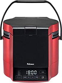 【中古】パロマ ガス炊飯器 炊きわざ PR-M09TR -LPG (0.9L/5合炊き) 【プロパンガス(LPG)用】プレミアムレッド×ブラック