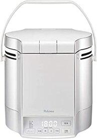 【中古】パロマ ガス炊飯器 炊きわざ PR-M18TV -13A (1.8L/10合炊き) 【都市ガス12A/13A用】プレミアムシルバー×アイボリー