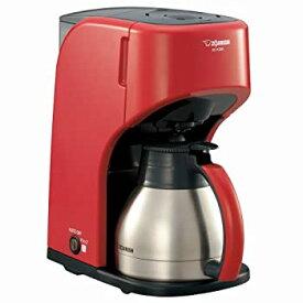 【中古】ZOJIRUSHI コーヒーメーカー 【カップ約1~5杯】 EC-KS50-RA レッド