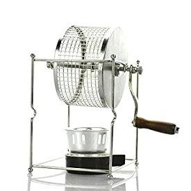 【中古】MXBAOHENGコーヒー豆ロースターelectric coffee bean roaster  BN-91コーヒー生豆焙煎器 ステンレス手動小型 手作り 100〜300g 家庭用