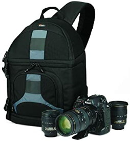 【中古】Lowepro カメラバッグ スリングショット200AW ブラック/グレー 347375