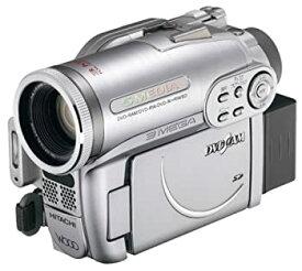 【中古】HITACHI DVDビデオカメラ DVDカム Wooo プレミアムシルバー DZ-GX3300-S