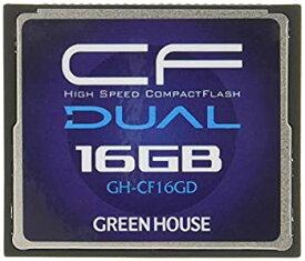 【中古】グリーンハウス 233倍速(37MB/s)ハイスピードコンパクトフラッシュ 16GB GH-CF16GD