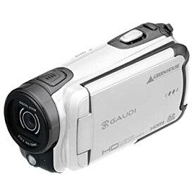 【中古】GREEN HOUSE 乾電池駆動HDデジタルビデオカメラ ホワイト