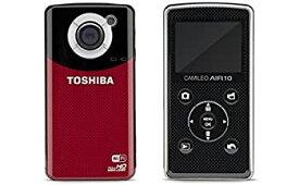 【中古】4k 画像 東芝 TOSHIBA ビデオ カメラ Camileo Air10 SDカード 4GB 付き wi-fi HDMI フルHD コンパクト 海外モデル PA3906U-1C1R