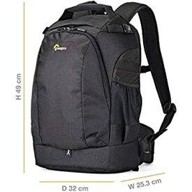【中古】Lowepro カメラリュック フリップサイド 400AW2 15.3L レインカバー付 ブラック 371295