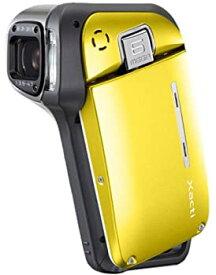 【中古】SANYO 防水型デジタルムービーカメラ Xacti (ザクティ)シリーズ (ブライトイエロー) DMX-CA65(Y)