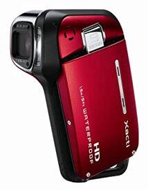【中古】SANYO ハイビジョン 防水デジタルムービーカメラ Xacti (ザクティ) DMX-CA9 レッド DMX-CA9(R)