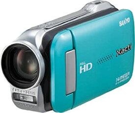 【中古】SANYO デジタルムービーカメラ Xacti GH1 ブルー DMX-GH1(L)