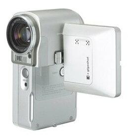 【中古】東芝 gigashot V10 HDDビデオカメラ MEHV10 ホワイト (4GB) MEHV10(W)