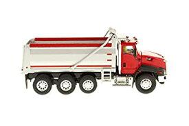 【中古】プラッツ DM85502 1/50 Cat CT660 ダンプトラック レッド/シルバー