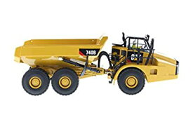 【中古】プラッツ DM85501 1/50 Cat 740B アーティキュレート ダンプトラック (チッパーボディ)