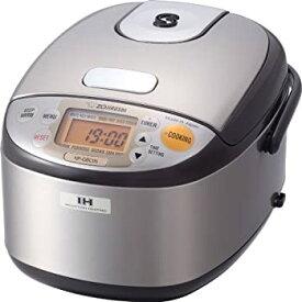 【中古】Zojirushi NP-GBC05-XT Induction Heating System Rice Cooker and Warmer, Stainless Dark Brown [並行輸入品]
