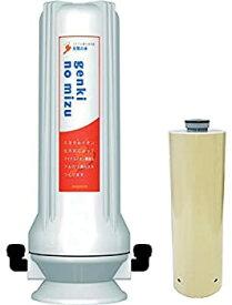 【中古】元気の水(genki no mizu) 水素水生成器 シンクタイプ(鉛除去カプセル入り) FMRP-16pb 日本製