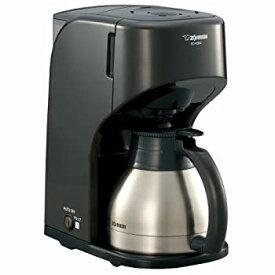 【中古】ZOJIRUSHI コーヒーメーカー 【カップ約1~5杯】 EC-KS50-TB ダークブラウン