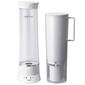 【中古】ドウシシャ 水素水生成器 浄水機能付 AQUA-H ホワイト AH-HP1401 WH