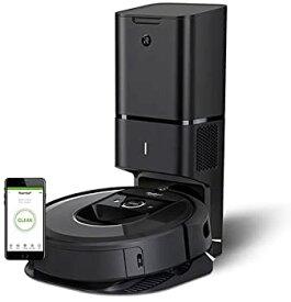 【中古】ルンバi7+ アイロボット のロボット掃除機 自動ゴミ収集 水洗いできるダストボックス wifi対応 スマートマッピング 自動充電・運転再開 吸引力