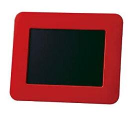 【中古】SANYO デジタルフォトフレーム 5V型液晶 レッド LVF-PF51(R)