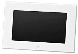 【中古】グリーンハウス 低消費電力設計の7型ワイド液晶 デジタルフォトフレーム 高精細(800×480Pixel)ホワイト GH-DF7X-WH