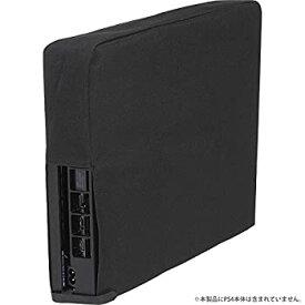 【中古】CYBER ・ 本体ホコリ防止カバー スリム 縦置きタイプ ( PS4 用) ブラック - PS4