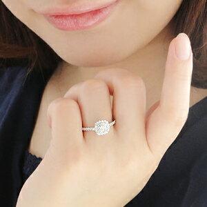 pt900【1.0ct】豪華ダイヤモンドリング