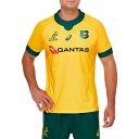 ラグビー オーストラリア代表 ワラビーズ ホーム ゲーム ジャージ 公式 メンズ ユニセックス 2111A821