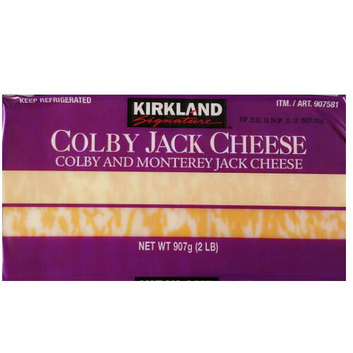 【冷蔵】■コストコ■カークランドシグネチャー コルビージャックチーズ 907g(907581)★goodmall_costco★【ラッキーシール対応】