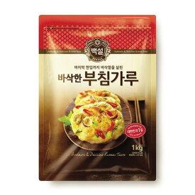 【L+】*韓国食品*簡単にチヂミが作れる!白雪(べッソル) チチミ粉 1kgレターパック発送のため代引不可・同梱不可