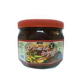 *韓国食品*【クール便・冷蔵】 ヤンニョム タデギ 500g【ラッキーシール対応】