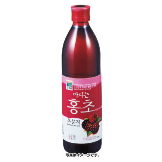 *韩国食品*水果胭脂红醋野草莓胭脂红醋500ml(4142)★goodmall★