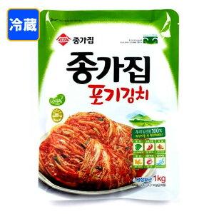*韓国食品*【クール便・冷蔵】韓国本場の味!ジョンガ 白菜キムチ 1Kg