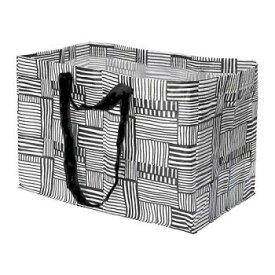 DM便●IKEA購入代行●FISSLA フィスラキャリーバッグ L(黒)、ホワイト、ブラック★goodmall_ikea★ 【ショッピングバッグ】