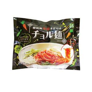 【L+】*韓国食品*『LS』まぜそばチョル麺セット(440g・2人前)・めん160g×2個、ソース 60g×2個■goodmall_韓国麺類・辛い■